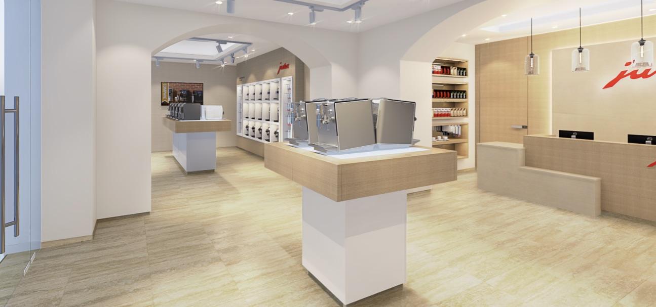 Сеть магазинов ароматного кофе бренда Julius Meinl