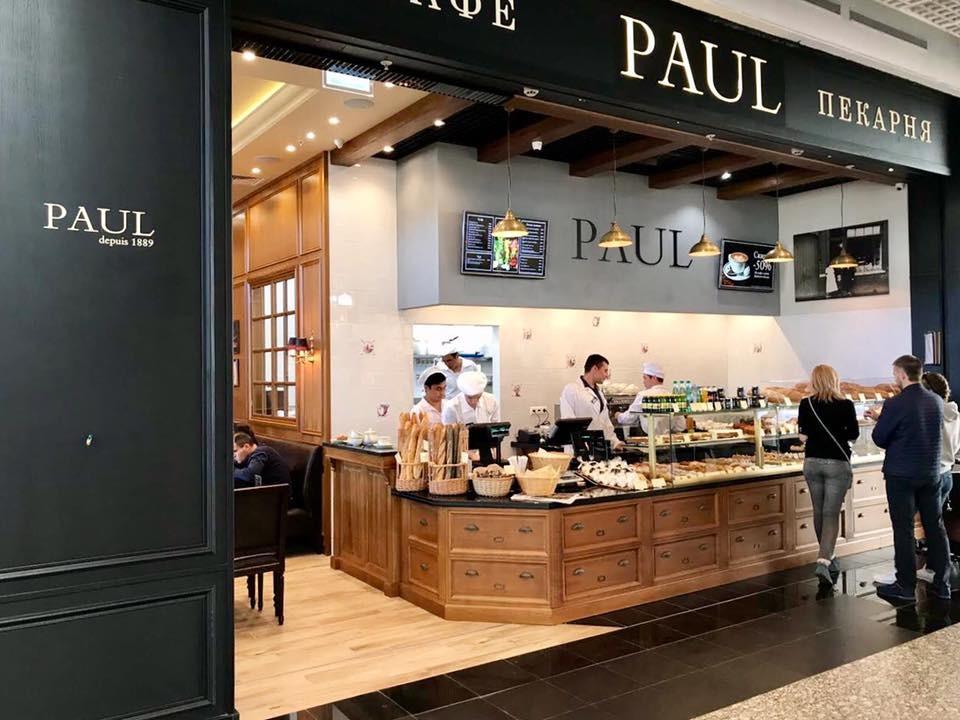 Сеть кафе-пекарен PAUL